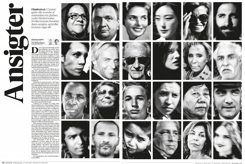 faces of cannes spread